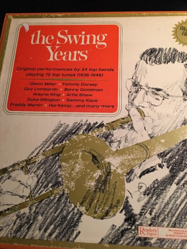 The Swing Years Six Set Vinyl Records 1936-1946 72 Top Tunes