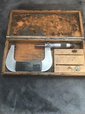 Tesa 2-3 Micrometer W Case