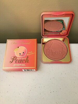 Too Faced Papa Dont Peach Blush   0 32 Oz   New   Authentic