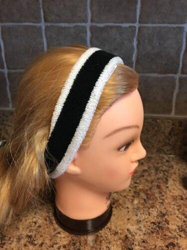New Free People  Knit Earband Headwrap Headband Sweatband Bl
