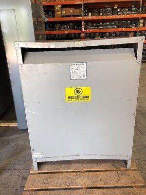 Hevi Duty Isolation Transformer 175 Kva Primary 460 Sec 460y266 Volt 3 Phase