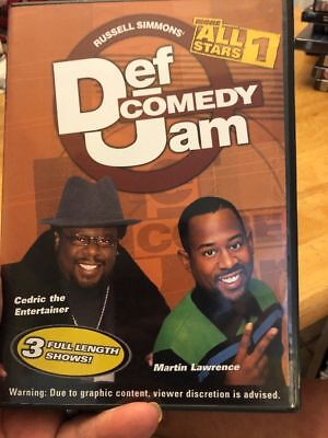 Def Comedy Jam - More All Stars, Vol. 1 by Martin Lawrence, Cedric the