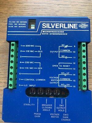 Barber Colman Silverline Microprocessor Auto-synchronizer Dyn2-90300 Dyn290300