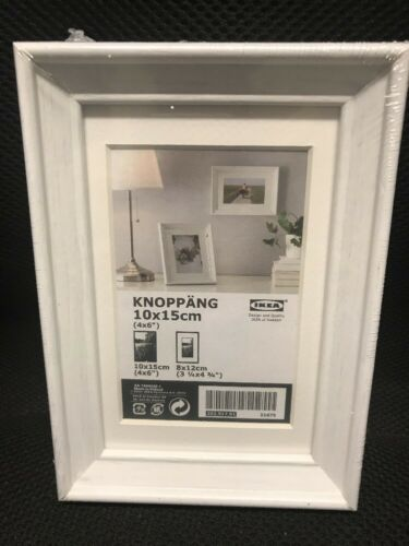 Picture Frames 4x6 Pre-matted Knoppang Ikea
