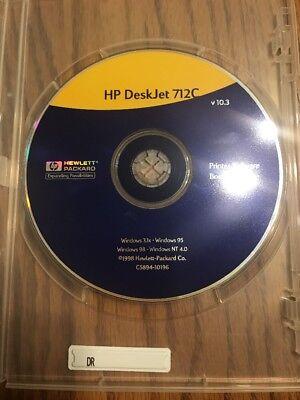 Hp Deskjet Printer 712C Series Printer Software Drivers Ships N 24H