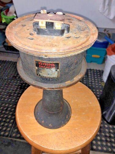 Vintage KEYSTONE FARADAY Signal Horn/Buzzer/SirenAlarm, Working 110 Volts