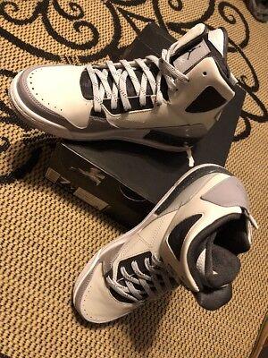low priced 57b7c 79d16 Nike Air Jordan Flight SC3 BG size 7Y Pure Platinum   Wolf Grey 629942-006