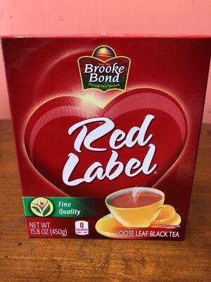 450g Tea - Brooke Bond Red Label Tea (loose tea) - 450g Free FAST SHIPPING FROM USA!