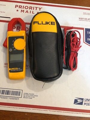 Fluke 323 Trms Digital Clamp Meter With Case Leads