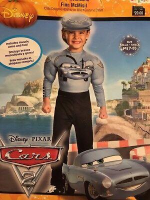 Disney Cars 2 Finn McMissile Costume Child Medium (7-8)
