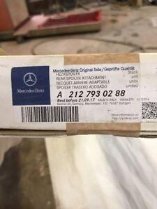 Mercedes Benz W212 E350 E550 E Class Trunk Spoiler Genuine Primed 2127930288