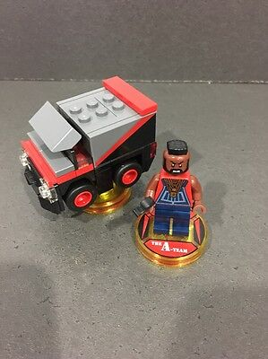 Lego Dimensions A Team B A Baracus Fun Pack COMPLETE All Formats