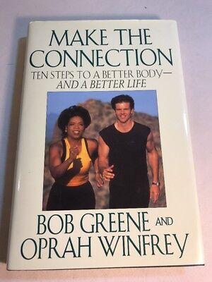 Oprah Winfrey And Bob Greene Make The Connection 1996 Better Body Memoir