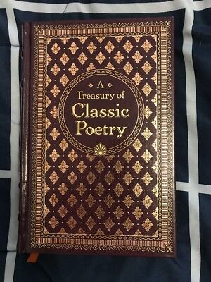 A Treasury of Classic Poetry (Barnes & Noble Collectible Edition) - Like New