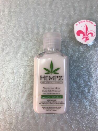 Hempz Sensitive Skin Herbal Body Moisturizer, 2.25 Ounce