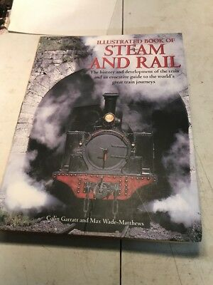 ILLUSTRATED BOOK OF STEAM AND RAIL-HISTORY & GREAT RAILROAD JOURNEYS-1500 PHOTOS
