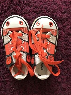 ex All Star Nemo Clown Fish Trainer Shoes UK 6/ US 6/ EUR 22 (Baby Clown-schuhe)