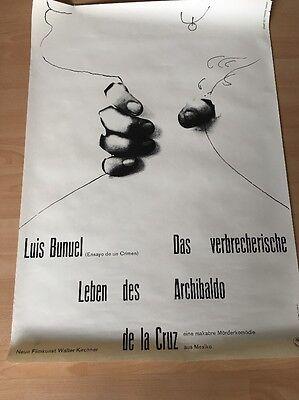 Altes Plakat Walter Kirchner Neue Filmkunst