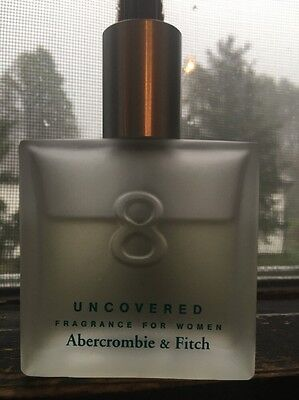 Abercrombie & Fitch 8 UNCOVERED Fragrance Spray Perfume Women 1.7 oz