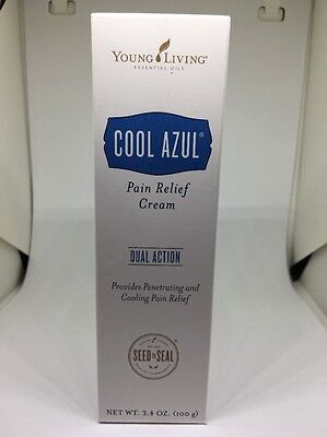 Young Living Essential Oils   Cool Azul Pain Relief Cream