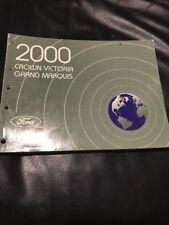 2000 FORD Crown Vic Mercury Marquis REPAIR MANUAL WIRING ...