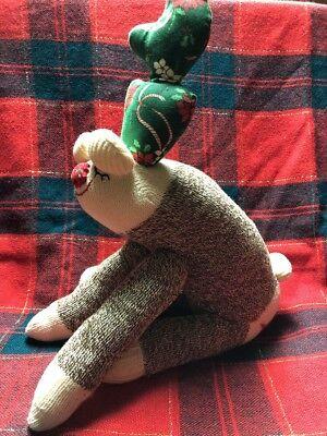 Christmas Reindeer Sock - Christmas Sock Monkey