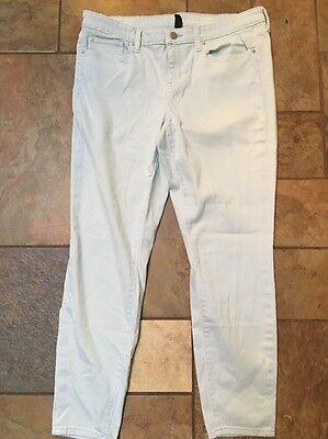 Woman's GAP Legging Skimmer Legging Cheville Light Blue Color Size 14 X 28