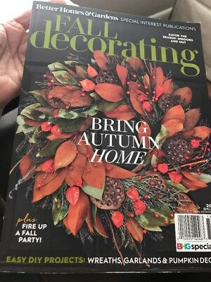 FALL DECORATING MAGAZINE,  BRING AUTUMN HOME  ISSUE, 2017  FIRE UP A FALL PARTY