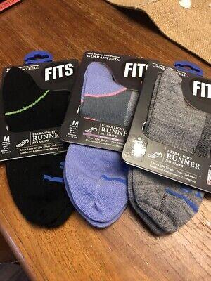 3 Pair Runner Sock (3 PAIR FITS ULTRA LIGHT RUNNER  RUNNING SOCKS Medium )