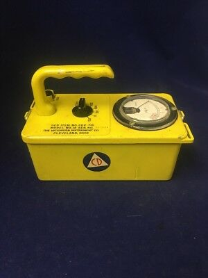Victoreen Cdv-715 Model 1a Radiological Survey Meter