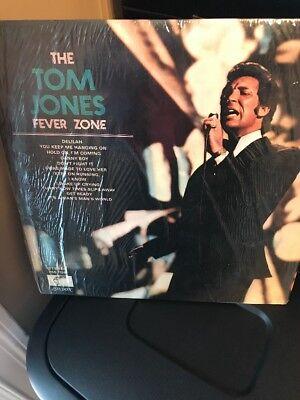 TOM JONES - THE TOM JONES FEVER ZONE LP VERY GOOD CONDITION VERY (Tom Jones The Tom Jones Fever Zone)