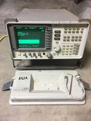 Hewlett Packard Hp 8563a Spectrum Analyzer Options 103 104 H09