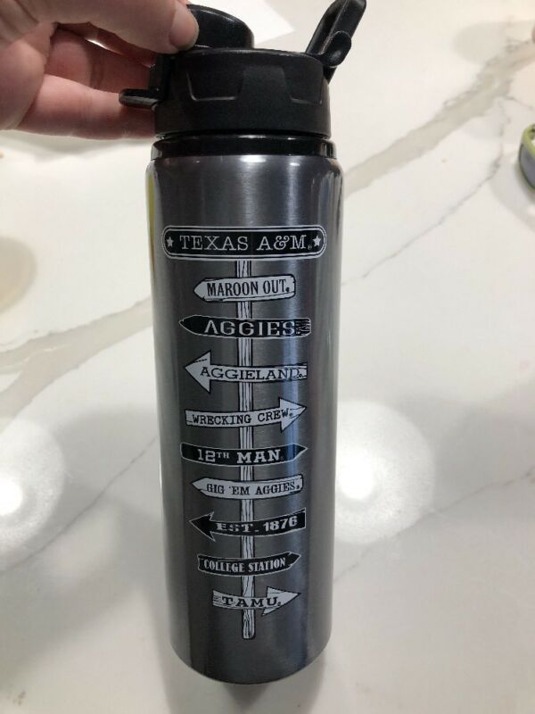 Texas A&M Aggies College Thermos Tumbler Coffee Cup New