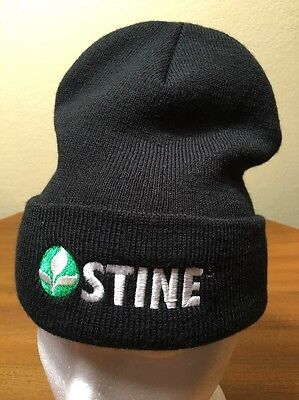 Stine Seed Agricultural Farming Knit Beanie Cap Hat One Size Embroidered Acrylic Acrylic Knit Beanie Cap