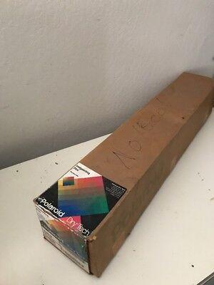 Polaroid Dry Tech 618910 Imagesetting Film 761mm X 45m  Scrap Silver Good