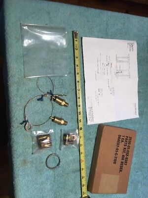 NOS Military Truck Tractor Air Brake Tank Drain Valve Kit Fits M35 M35A2 for sale  Lewes
