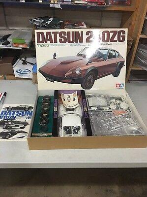Tamiya 1/12 Scale Datsun 240ZG Plastic Model Kit 12010 / BRAND NEW IN BOX