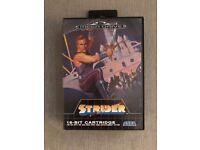 Strider For Sega Megadrive, Complete, Classic, Vintage, Excellent