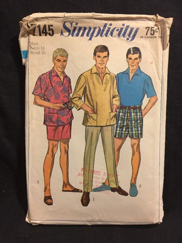 Simplicity Pattern 7145 Men