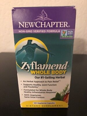 New Chapter Zyflamend Whole Body 120 vegetarian capsules FREE shipping