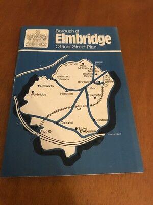 Borough Of Elmbridge Official Street Plan