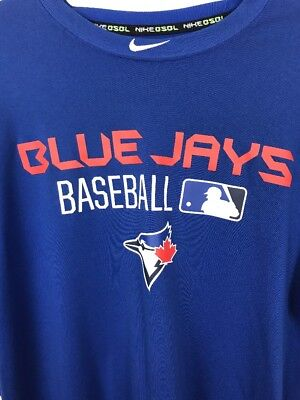 Bluejays Nike Baseball authentic collection, performance apparel, size L