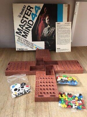 1977 Invicta Plastics MASTER MIND 44  - 4 Player Edition Completes Part Sealed