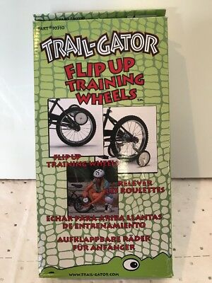 Best Trail-Gator Flip Up Training Wheels For 12-20-Inch Bicycles Easy To