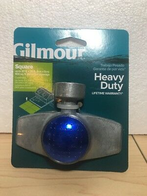 GIlmour 876S Square Pattern Spot Sprinkler, 30' x 30' (buy 1 Get 1 50% - Gilmour Pattern