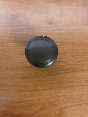 Highland Ridge Caramel Bronze 1-3/16-inch (30mm) Diameter Knob Lot of 4 30 Mm Ridge Knob