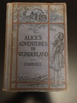 Alice's Adventures in Wonderland By Lewis Carroll 1917 By Ginn And Company - Alice And Wonderland Party