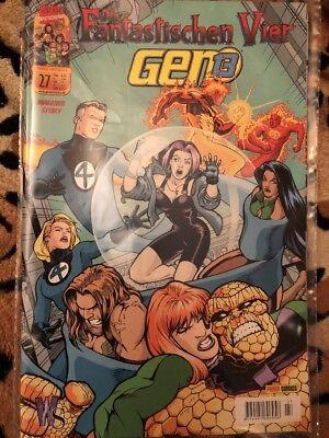 Marvel Deutschland Nr 27, Fantastische Vier- Gen 13 Gen Vier