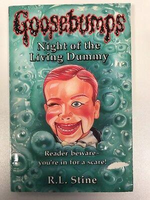Dummy (Classic Goosebumps) by R. L. Stine. (Gänsehaut Roman) (Gänsehaut Dummy)
