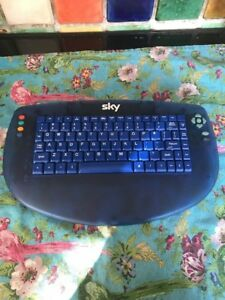 SKY TV Blue Keyboard Keypad Remote - Only for Standard Sky Boxes